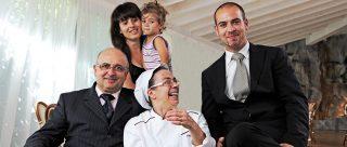Flavio Cerioni e la sua famiglia aprono la Lanterna alla solidarietà